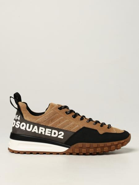 Sneakers Legend Dsquared2 in camoscio