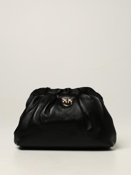Pinko mini chain bag in nappa leather