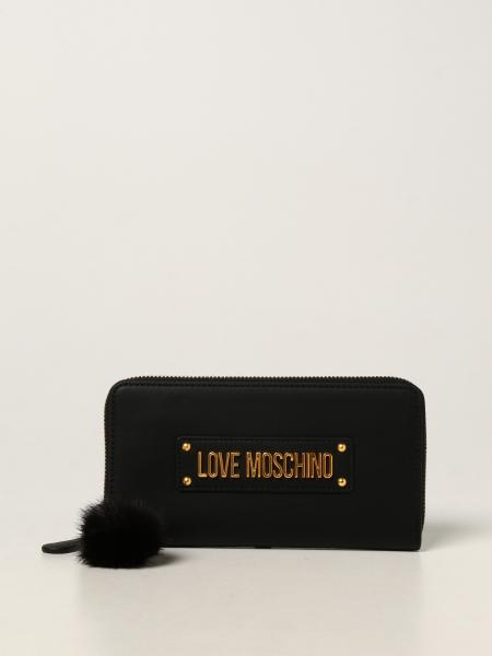 Love Moschino women: Love Moschino wallet in synthetic leather