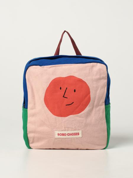 Bobo Choses backpack in color block cotton