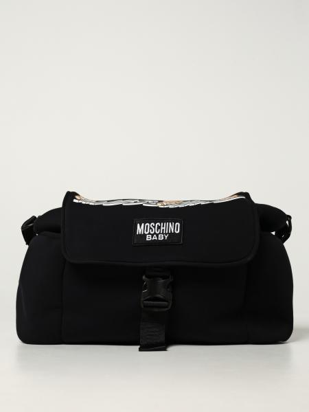 Moschino Baby diaper bag in cotton blend