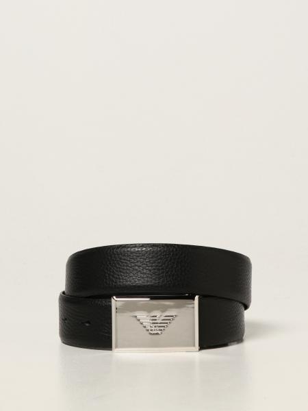 Cintura reversibile Emporio Armani in pelle