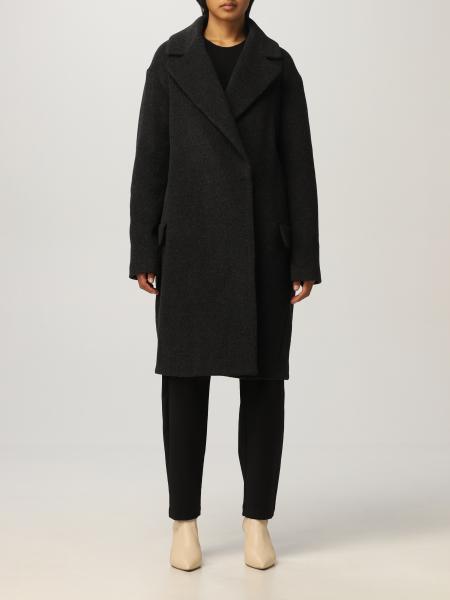 Semicouture 女士: 大衣 女士 Semicouture