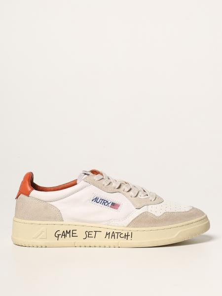 Autry sneakers in leather and suede