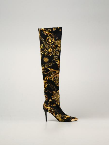 Versace Jeans Couture: Сапоги Женское Versace Jeans Couture