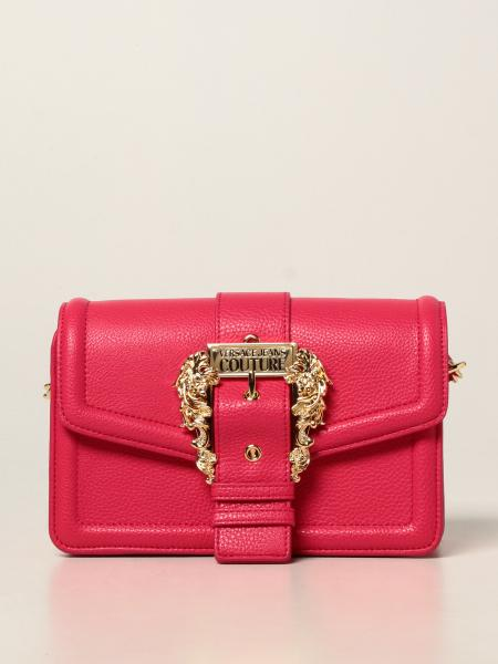 Versace Jeans Couture donna: Borsa a tracolla Versace Jeans Couture in pelle sintetica