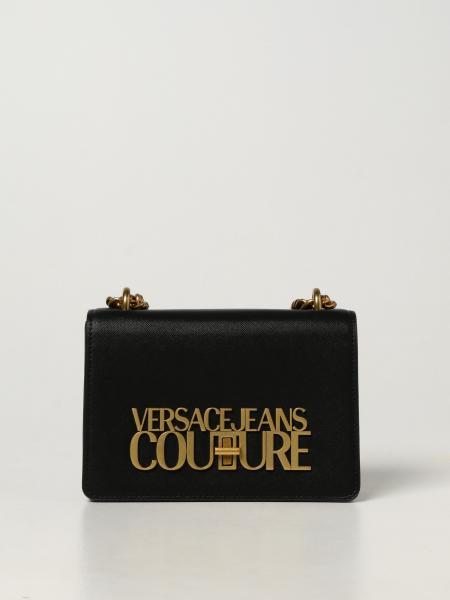 Versace Jeans Couture donna: Borsa Versace Jeans Couture in pelle saffiano sintetica