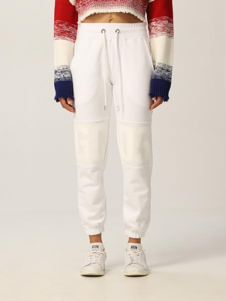 Gcds women: New Gcds band jogging trousers in cotton