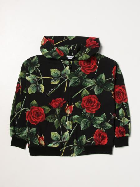 Dolce & Gabbana rose patterned sweatshirt