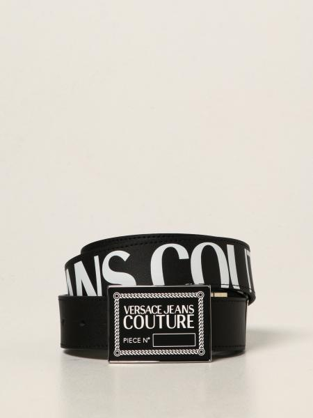 Versace Jeans Couture uomo: Cintura Versace Jeans Couture in pelle di vitello