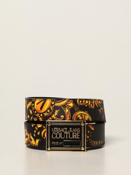 Cintura Versace Jeans Couture in pelle saffiano