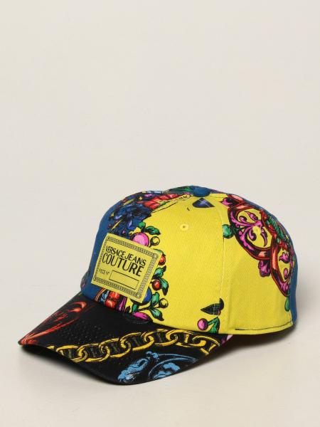 Versace Jeans Couture baseball hat with Regalia Baroque print