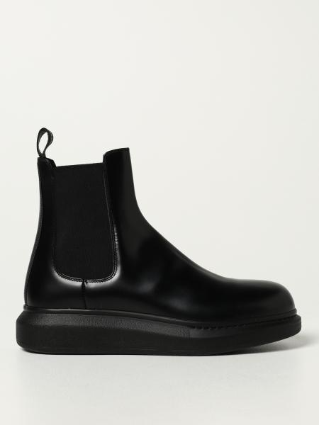 Alexander McQueen Chelsea boot in brushed leather