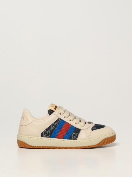 Gucci: Sneakers Screener Gucci in pelle