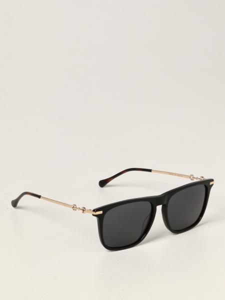 Gucci: Gucci sunglasses in acetate and metal