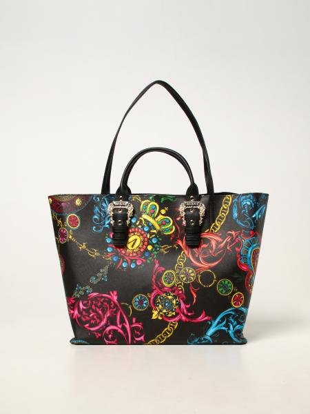 Versace Jeans Couture donna: Borsa tote Versace Jeans Couture con stampa Baroque