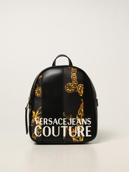 Versace Jeans Couture donna: Zaino Versace Jeans Couture in pelle sintetica liscia