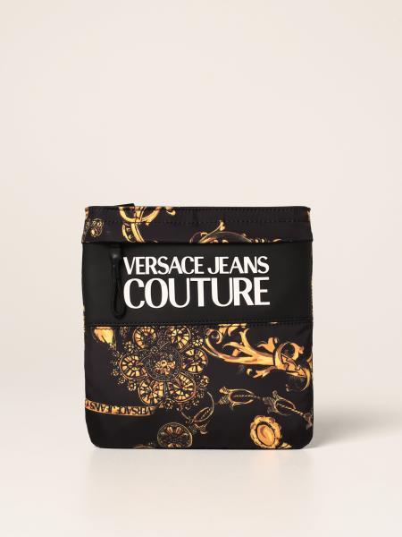 Borsello Versace Jeans Couture in nylon Baroque