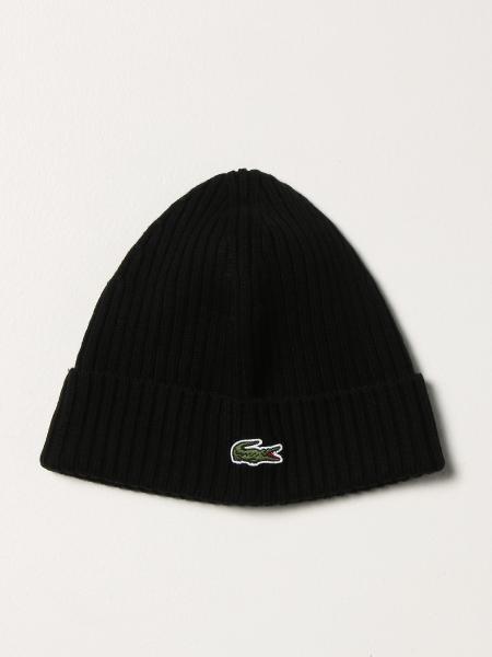 Cappello a berretto Lacoste con logo