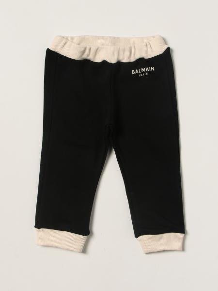 Balmain bambino: Leggings Balmain con logo