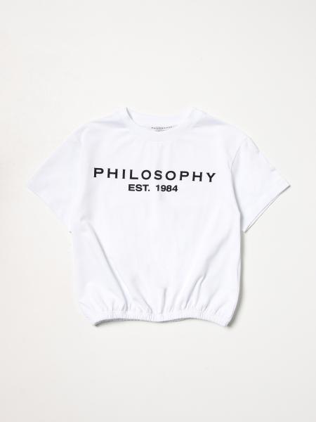 Philosophy Di Lorenzo Serafini: T恤 儿童 Philosophy Di Lorenzo Serafini