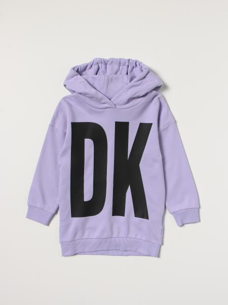 Abito a felpa Dkny con logo