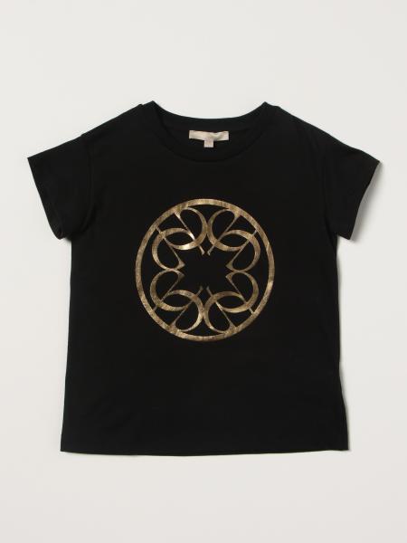 Elie Saab bambino: T-shirt Elie Saab in cotone con logo laminato