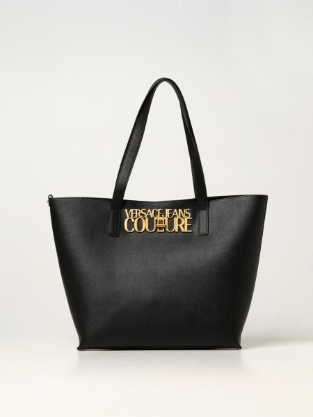 Versace Jeans Couture donna: Borsa Versace Jeans Couture con logo metallico