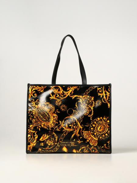 Versace Jeans Couture donna: Borsa Versace Jeans Couture in tela spalmata