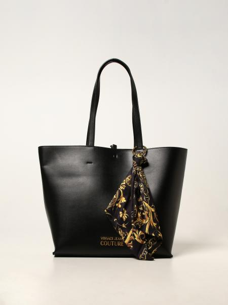 Versace Jeans Couture donna: Borsa tote Versace Jeans Couture in pelle sintetica