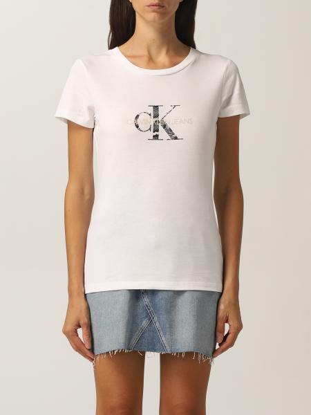 Calvin Klein Jeans 女士: T恤 女士 Calvin Klein Jeans