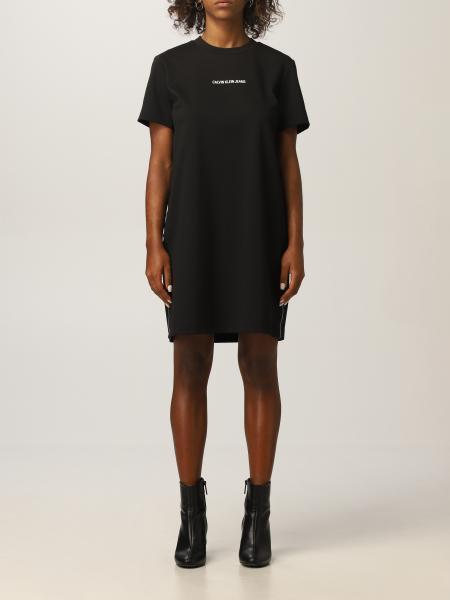 Calvin Klein Jeans 女士: 连衣裙 女士 Calvin Klein Jeans
