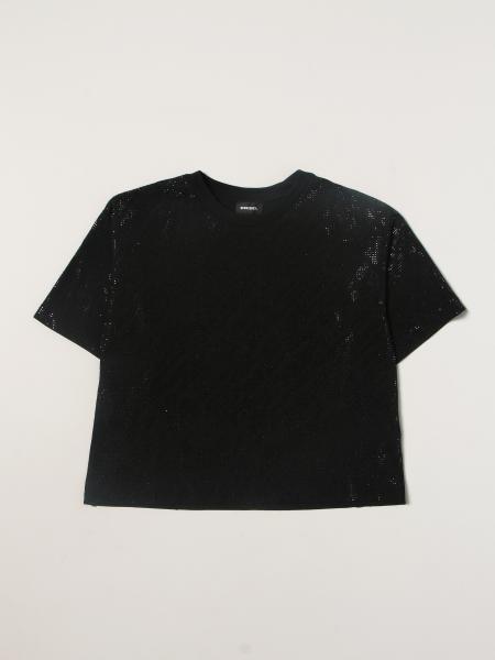 T-shirt Diesel con micro borchie