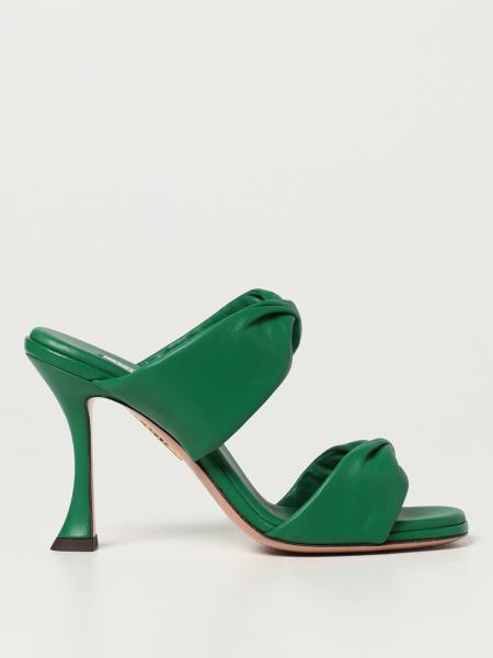 Aquazzura sandals in nappa leather