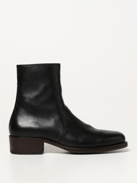 Lemaire: Lemaire leather ankle boots