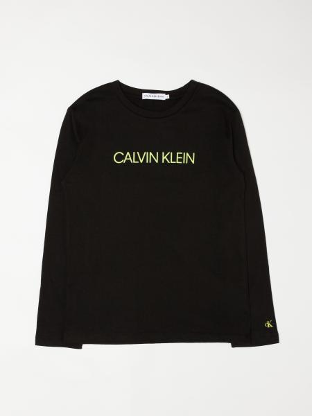 Calvin Klein: Футболка Детское Calvin Klein