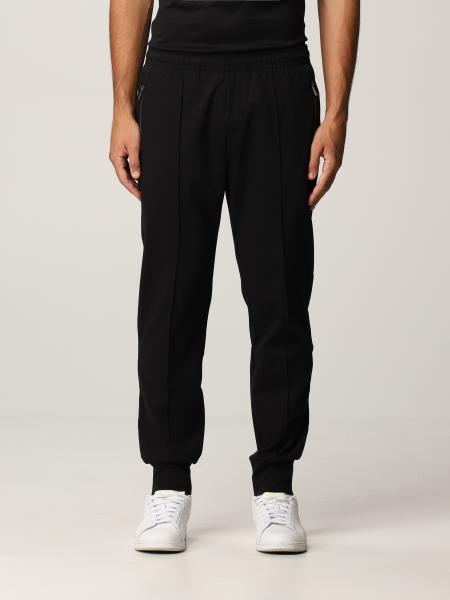 Pantalone jogging Emporio Armani in misto cotone con logo