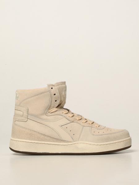 Diadora Heritage men: Mi Basket Diadora Heritage sneakers in nubuck