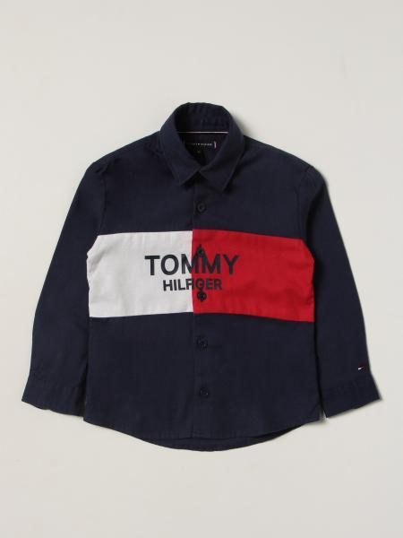 Hemd kinder Tommy Hilfiger