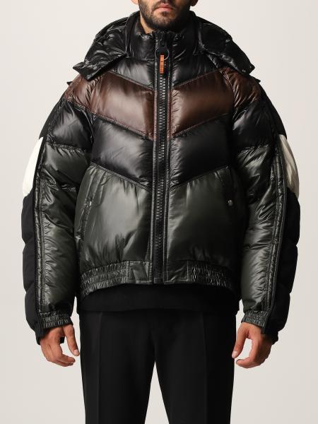Maison Mihara Yasuhiro men: Maison Mihara Yasuhiro down jacket in padded and quilted nylon