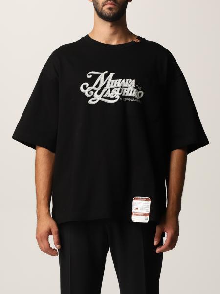 Maison Mihara Yasuhiro men: Maison Mihara Yasuhiro t-shirt in cotton with logo