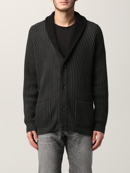 Dondup: 针织开衫 男士 Dondup