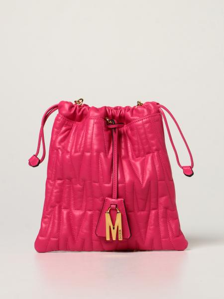 Moschino Couture bag in quilted nappa with charm