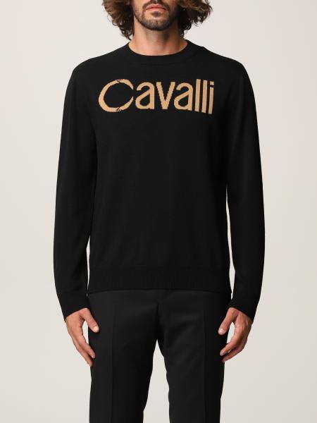Roberto Cavalli: 毛衣 男士 Roberto Cavalli