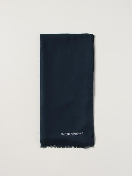 Sciarpa Emporio Armani in viscosa con logo