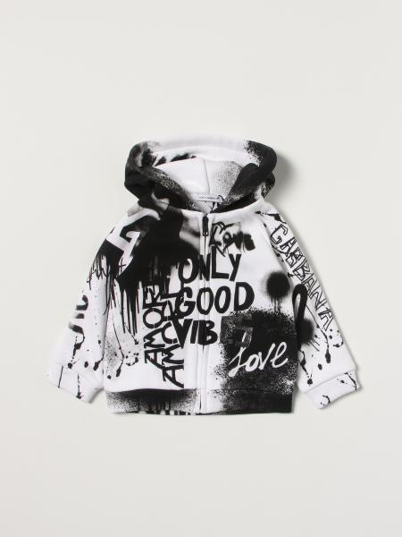 Dolce & Gabbana jumper in printed cotton
