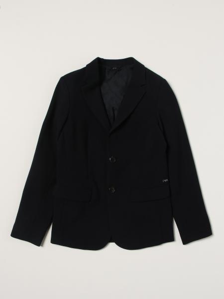 Blazer Emporio Armani in misto lana