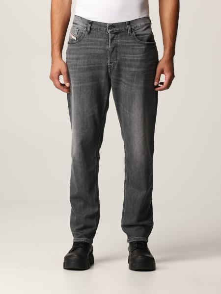 Diesel men: Diesel 5-pocket jeans in washed denim
