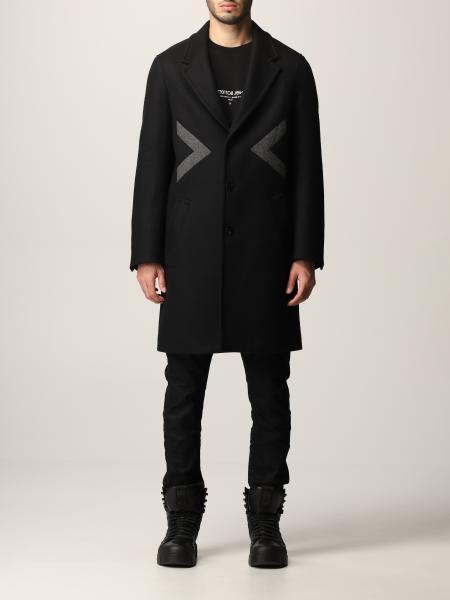 Cappotto Neil Barrett in misto lana