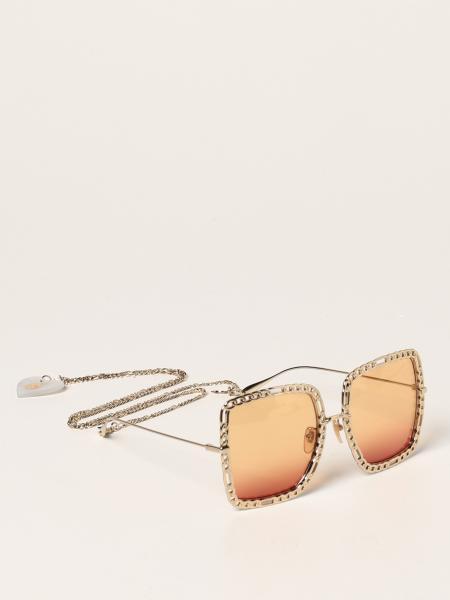 Occhiali da sole Gucci in metallo